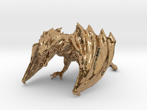 Game Of Thrones Dragon (large) in Polished Brass