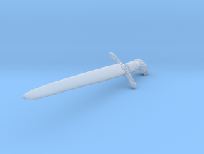 Game of Thrones Sword in Smooth Fine Detail Plastic