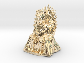 Donald Trump as Game of Thrones Character in 14k Gold Plated Brass: Small