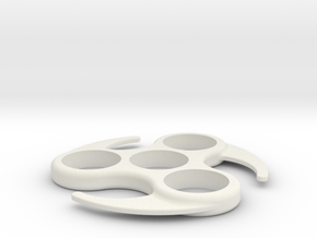 Spinner Pro Mini in White Natural Versatile Plastic