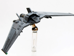 F-302 Interceptor: 1/270 scale Large Base in White Strong & Flexible Polished