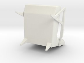 Chair in White Natural Versatile Plastic