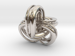 Parallel Universe - Helen in Rhodium Plated Brass