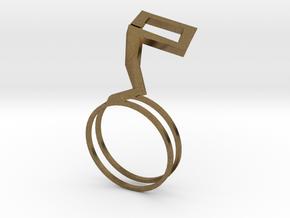 Hana ring in Natural Bronze: 8 / 56.75