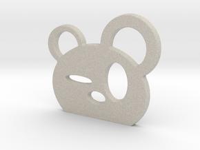Drunk Panda! in Natural Sandstone