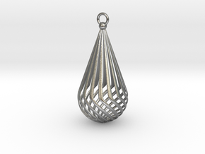 Teardrop II - Delicate in Natural Silver