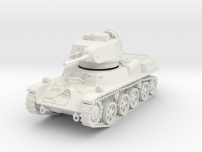 PV121 Stridsvagn m/40L (1/48) in White Natural Versatile Plastic