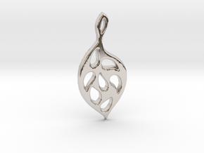 Autumn Leaf in Platinum