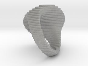 archetype - signature ring round in Aluminum: 5 / 49