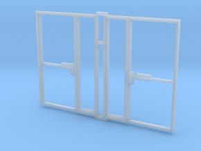 Single Office Door 1:35 x 2 in Smooth Fine Detail Plastic