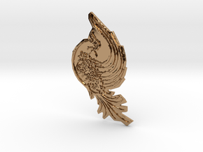 Bird in Polished Brass