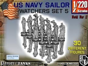 1/220 US Navy Watchers Set 5 in Smoothest Fine Detail Plastic