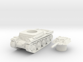 Panzer 38(t) (Czechoslovakia) 1/87 in White Natural Versatile Plastic