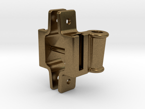"""Classification Lamp Bracket Set - 1.5"""" Scale in Natural Bronze"""