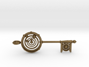 Key To The Universe in Natural Bronze