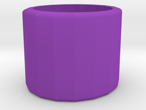 Ring/Rolling desk toy in Purple Processed Versatile Plastic