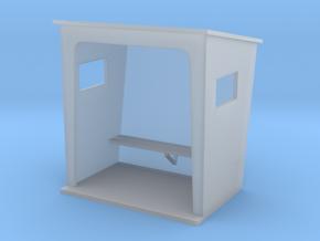 TJ-H01131 - Abribus beton, petit in Smooth Fine Detail Plastic