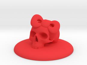 #3 ORNAMENT COVER  in Red Processed Versatile Plastic