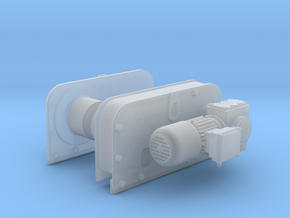 1/24 Patterson Facing Winch KIT in Smooth Fine Detail Plastic