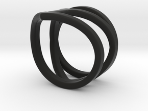 Ring of Affection Ring in Black Natural Versatile Plastic: 6 / 51.5