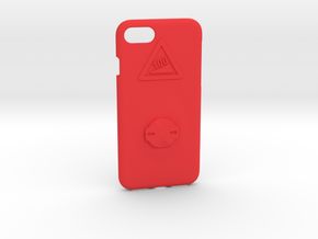 iPhone 7 Garmin Mount Case - Hill Climb in Red Strong & Flexible Polished
