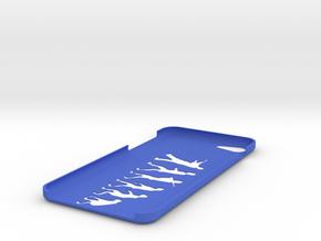IPhone7s Evolution Case in Blue Processed Versatile Plastic