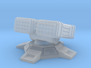 LRM Turret 6mm in Smoothest Fine Detail Plastic