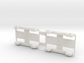 Bogies AR 45 SNCB version 1 in White Strong & Flexible