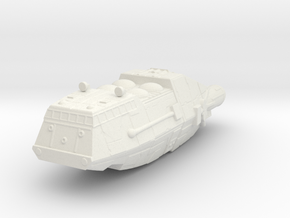 Shuttle (Battlestar Galactica TOS), 1/350 in White Natural Versatile Plastic