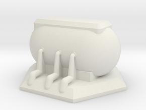 Objective Marker 2 in White Natural Versatile Plastic