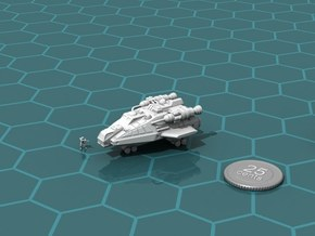 Tramp Freighter in White Strong & Flexible