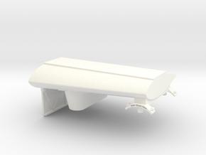 1.7 SPOILER ARMEMENT HUGHES in White Processed Versatile Plastic