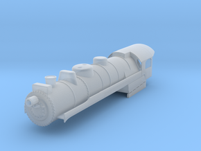 N Scale Reading G3 Steam Locomotive Shell in Smooth Fine Detail Plastic