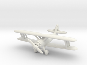 Naval Aircraft Factory N3N-3 1/285 6mm in White Natural Versatile Plastic