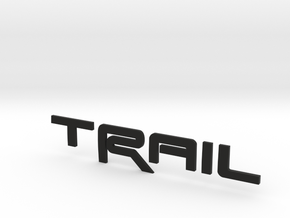 Trail Revision 2 upScaled in Black Natural Versatile Plastic
