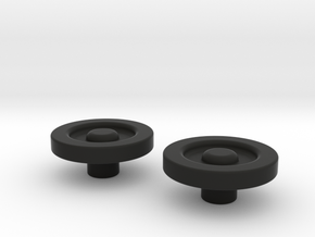 FO Tie Plugs in Black Strong & Flexible