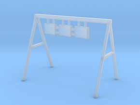 Swing 01. O Scale (1:48) in Smooth Fine Detail Plastic