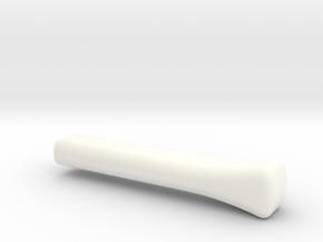 Lancia Fulvia Regler Lever in White Processed Versatile Plastic