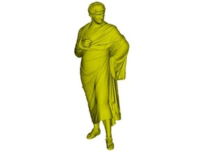 1/15 scale Roman senator 1st Century BC figure in Smooth Fine Detail Plastic