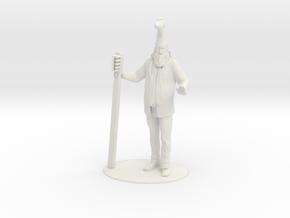 Vermin Supreme Miniature in White Strong & Flexible: 1:55