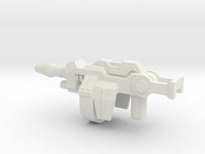 Cricket Bugman Gun in White Natural Versatile Plastic