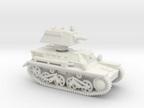 Vickers Light MkIII 1-87 in White Natural Versatile Plastic