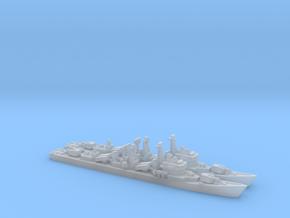 Type 051 Destroyer x 2, 1/2400, HD Version. in Smooth Fine Detail Plastic