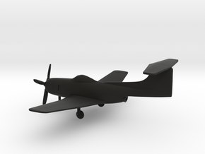 Curtiss XF15C in Black Strong & Flexible: 1:200