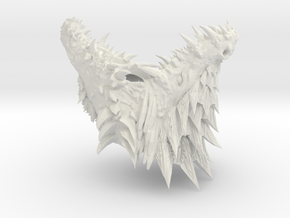 Dragon Head in White Strong & Flexible