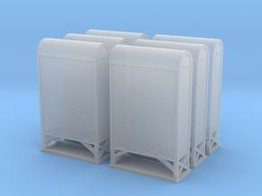 TJ-H04662x6 - Armoires à relais petit modèle in Smooth Fine Detail Plastic