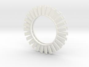 1.10 AILETTES TURBINE CHINOOK in White Processed Versatile Plastic
