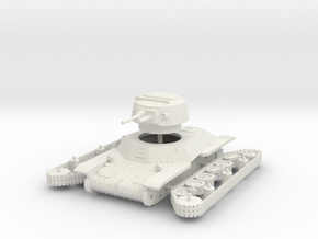 1/72 Type 2 Ke-To light tank in White Natural Versatile Plastic