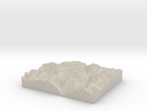 Model of Corni di Nefelgiù in Natural Sandstone