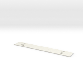 Chassis_pilote_vevey in White Natural Versatile Plastic